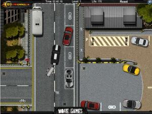 jeu de parking de voiture avec remorque. Black Bedroom Furniture Sets. Home Design Ideas